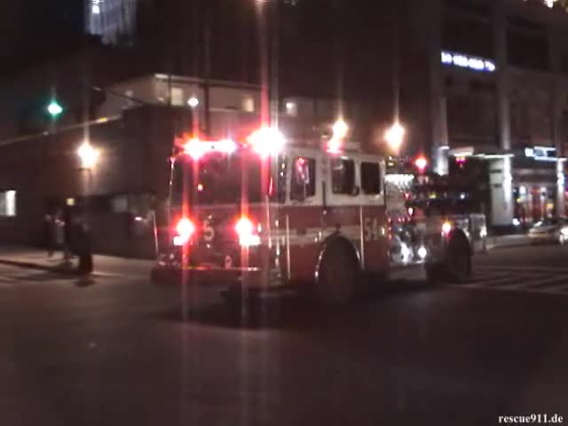 Engine 54 FDNY + Police Cars NYPD (stream)