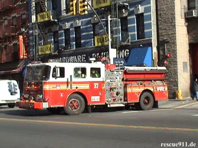 Engine 37 FDNY (stream)