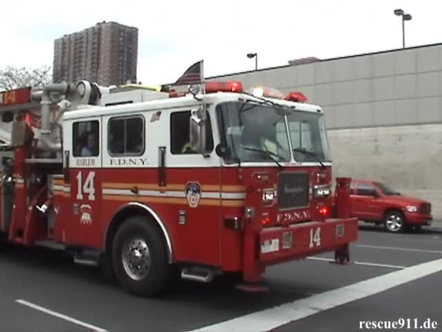 Tower Ladder 14 FDNY (stream)