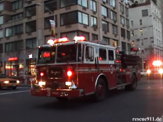 Engine 3 + Battalion Chief 7 FDNY (stream)