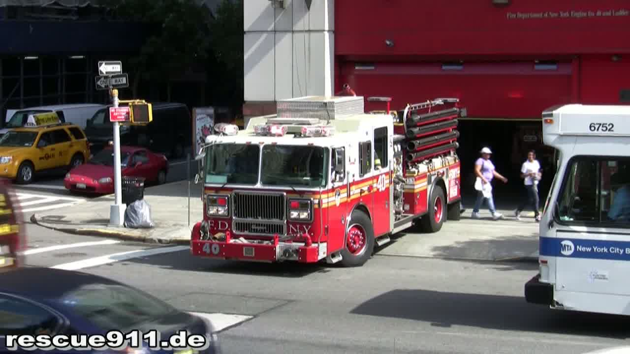 Engine 40 FDNY (stream)