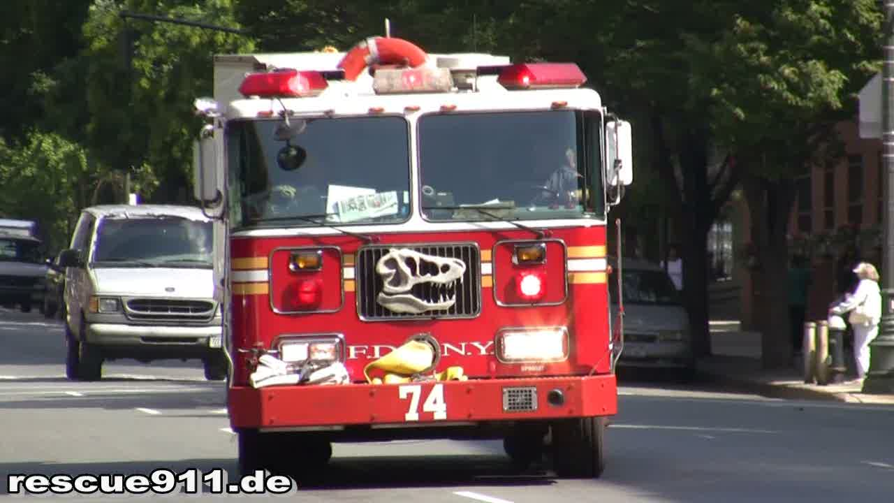 Engine 74 FDNY (stream)