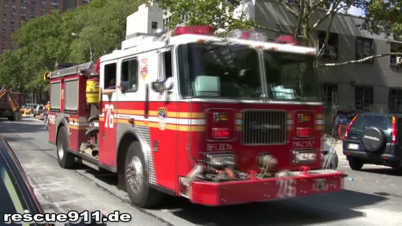 Engine 76 FDNY (stream)