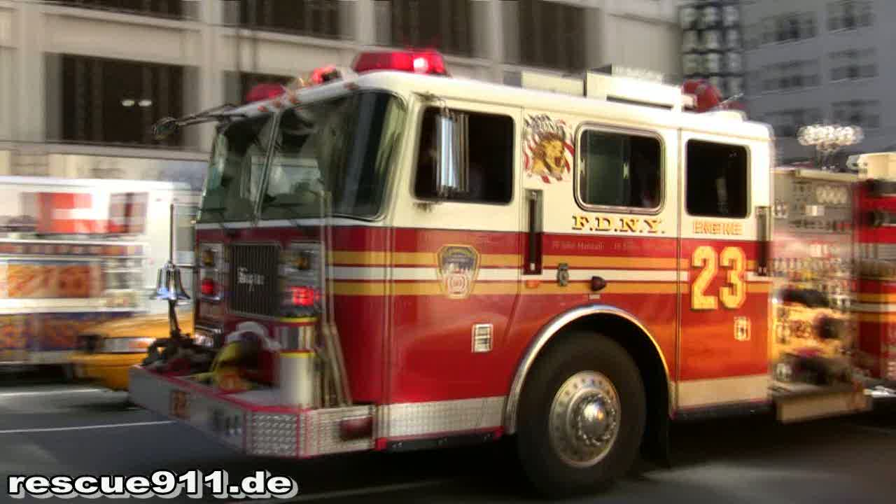 Engine 23 FDNY (stream)