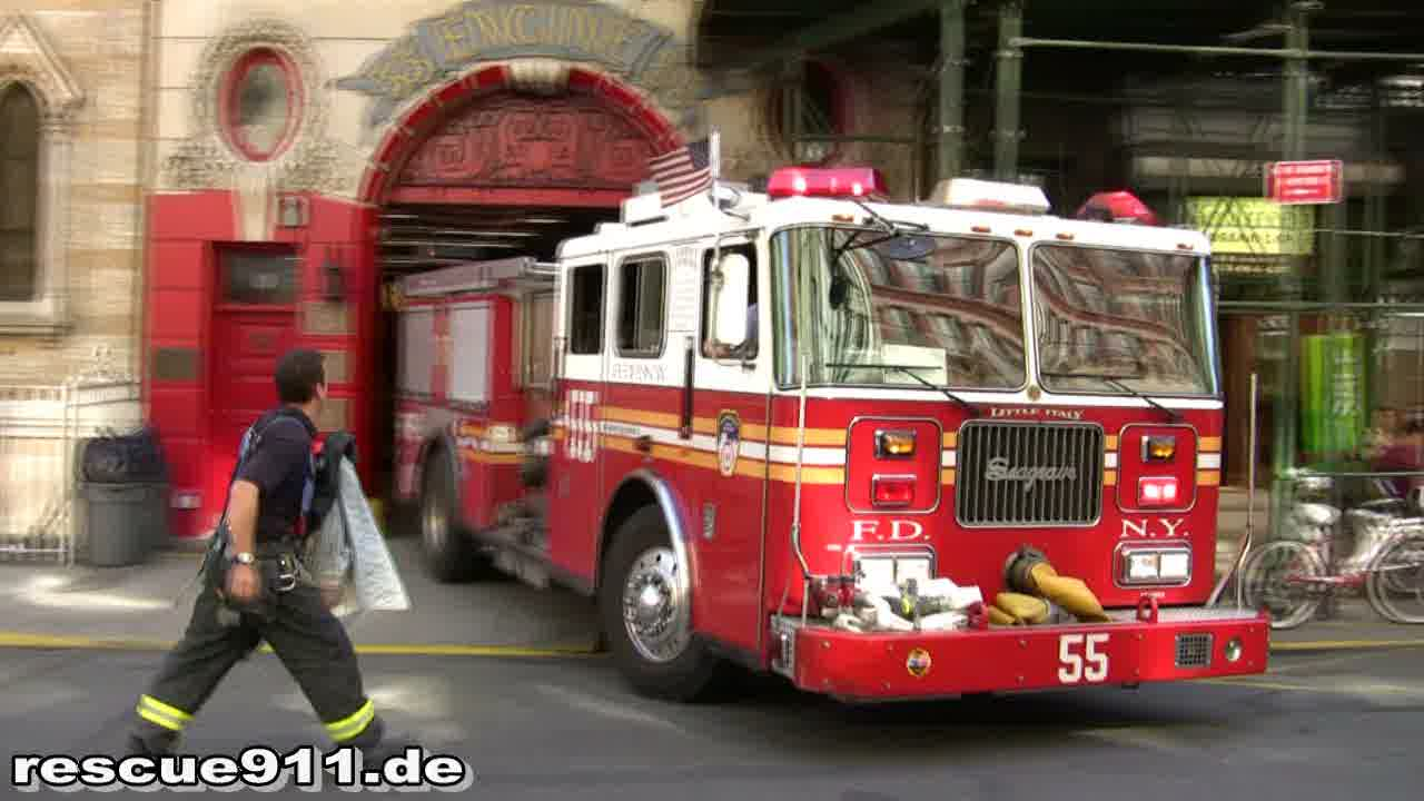 Engine 55 FDNY (stream)