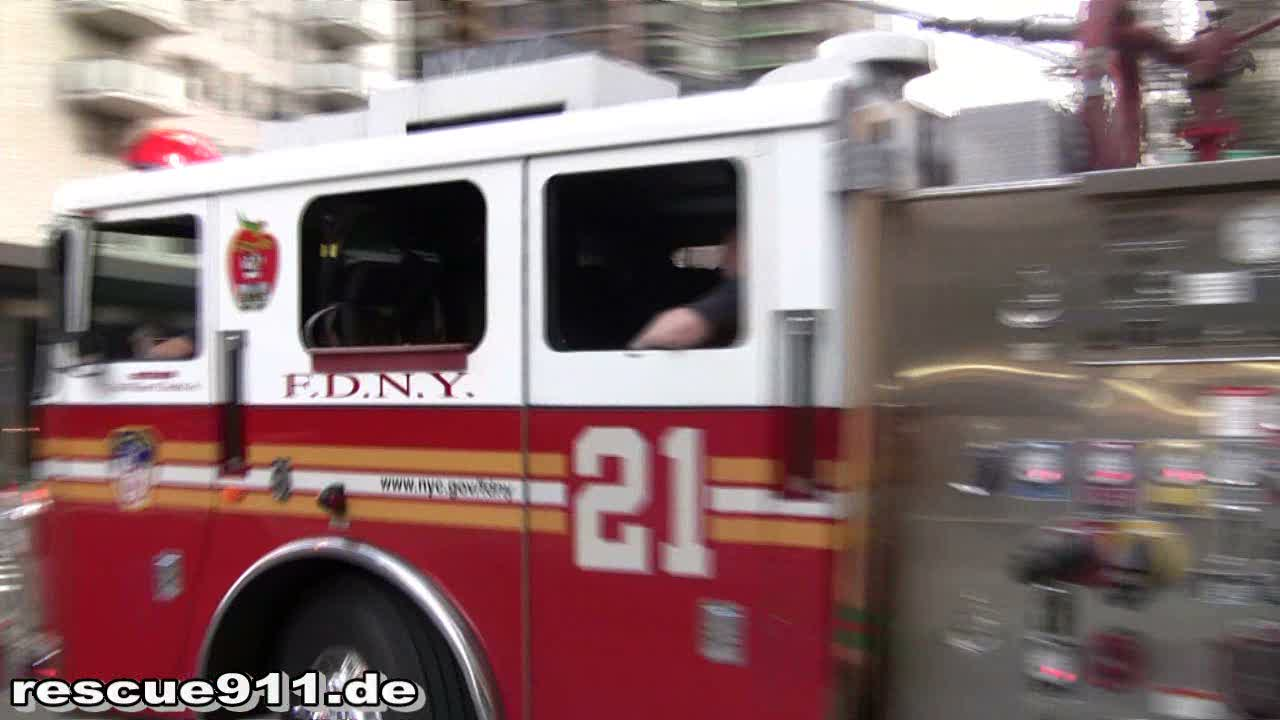 Engine 21 FDNY (stream)
