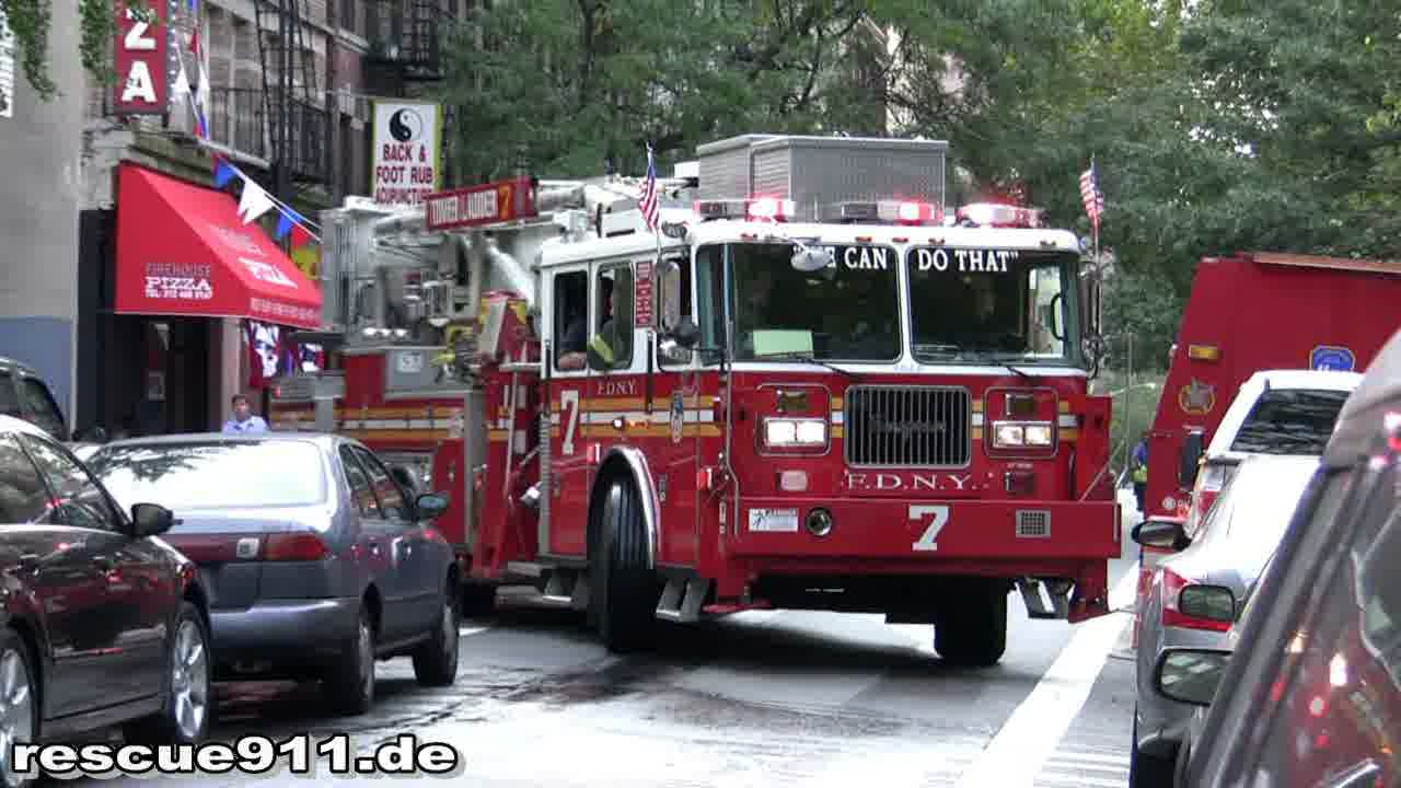Tower Ladder 7 FDNY (stream)