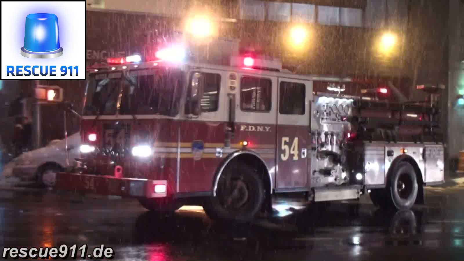 Engine 54 + Battalion 9 FDNY (stream)
