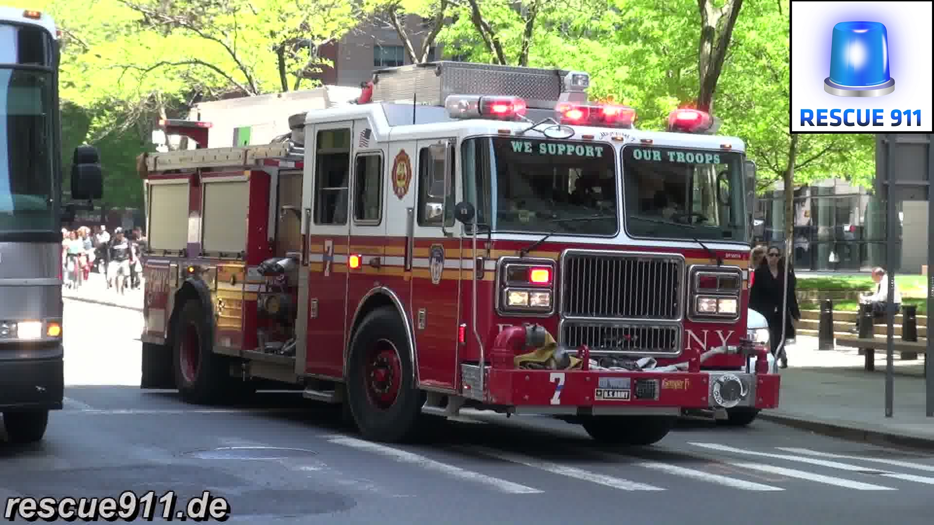 Engine 7 FDNY (stream)
