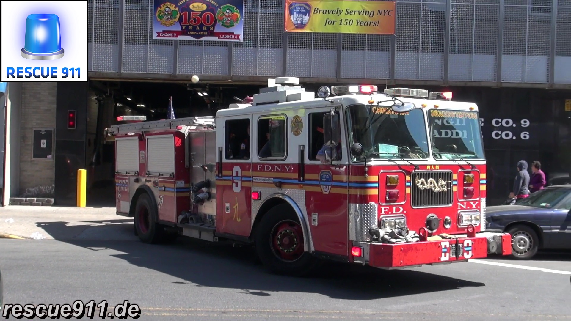 Engine 9 FDNY (stream)