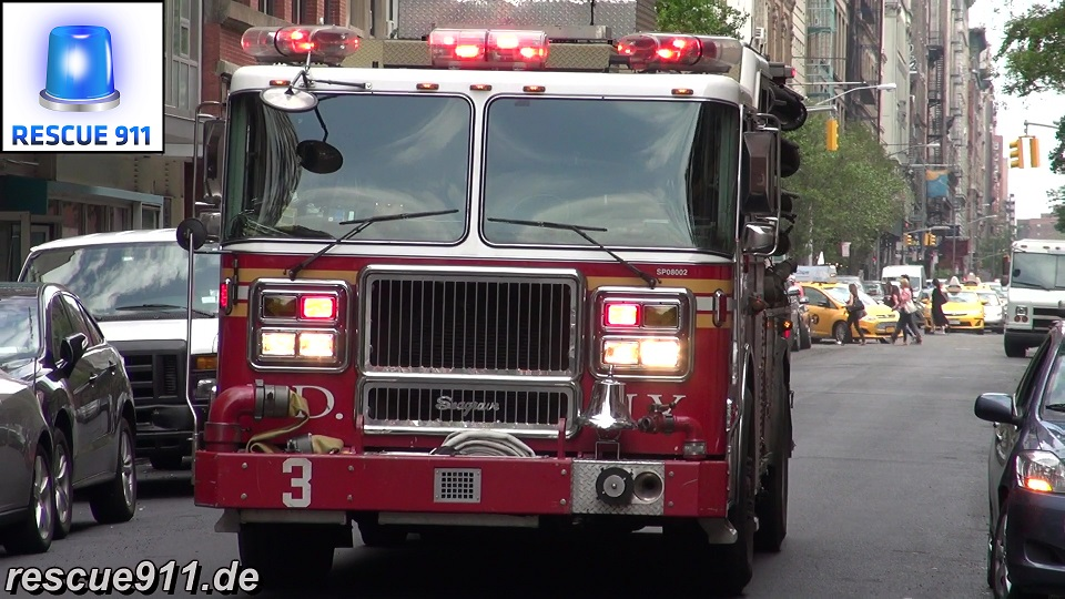 Engine 3 FDNY (stream)