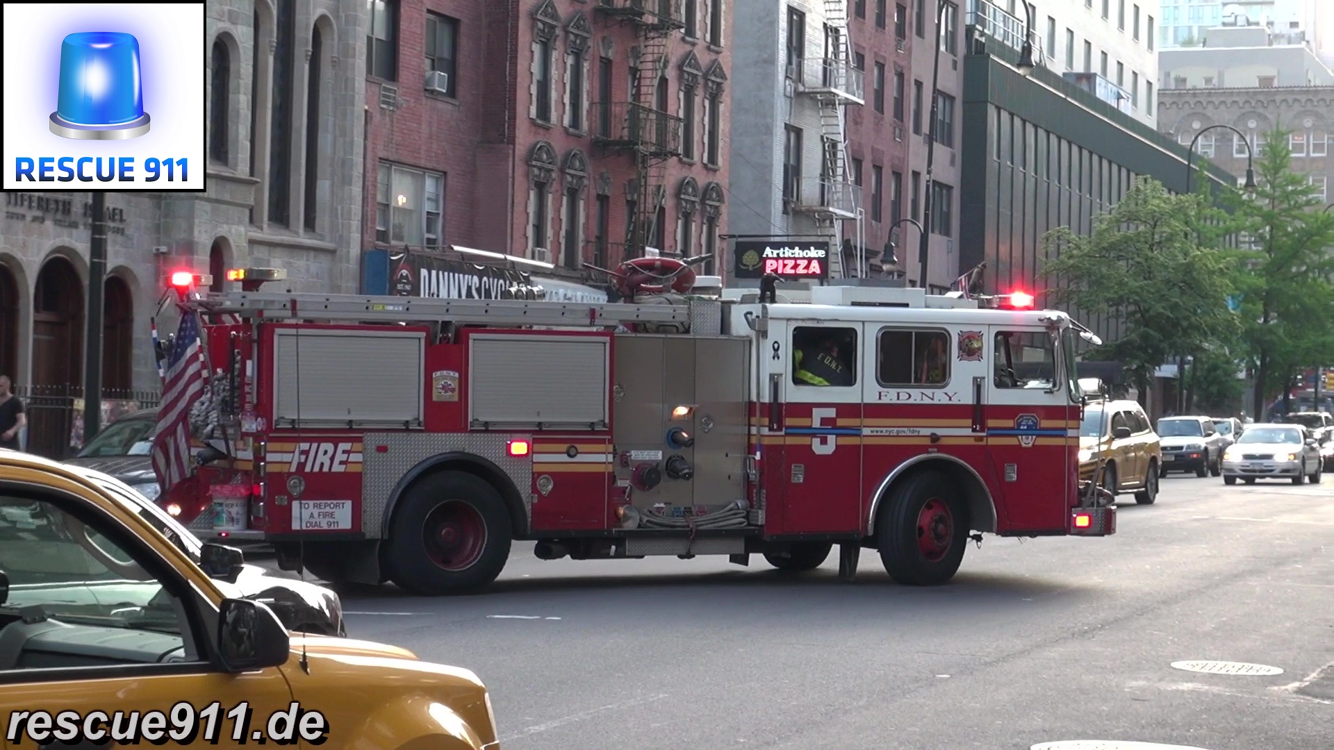 Engine 5 FDNY (stream)