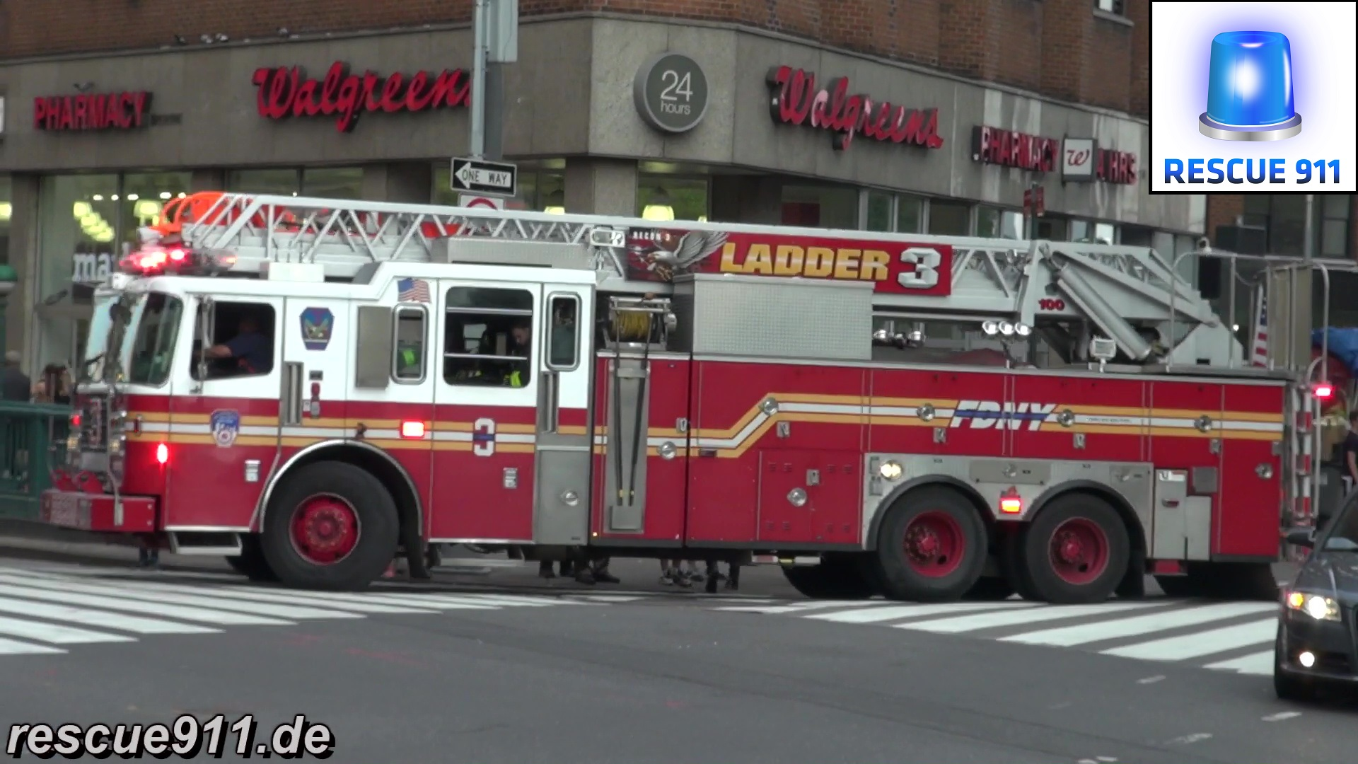 Ladder 3 FDNY (stream)