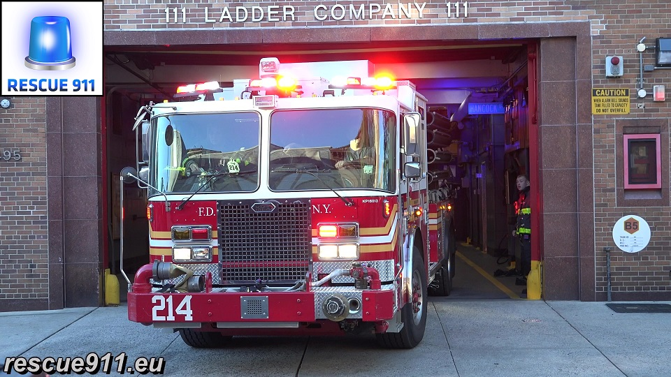 Engine 214 FDNY (stream)