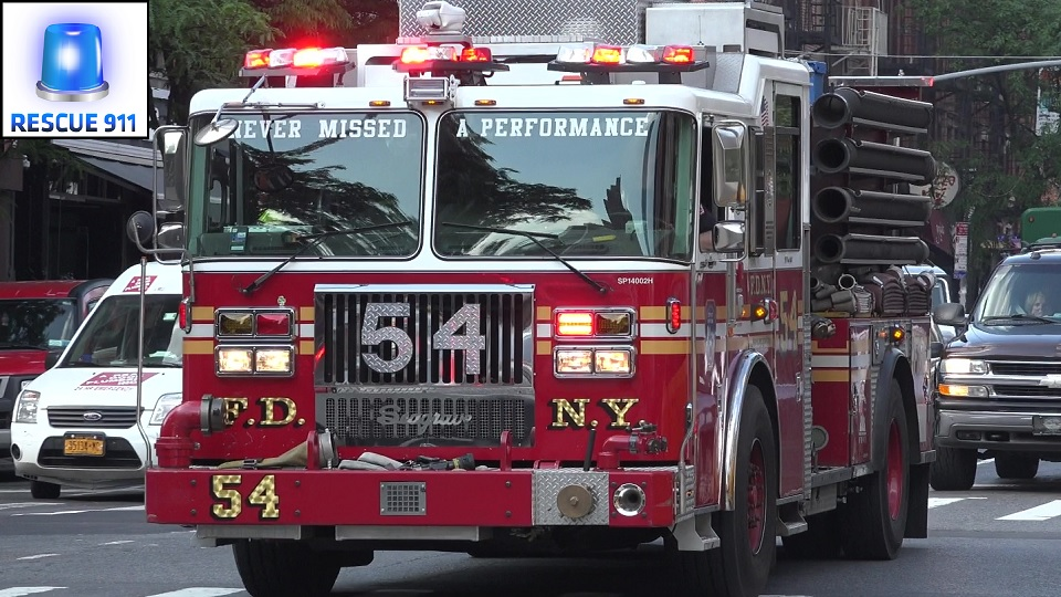 Engine 54 + Battalion 45 FDNY (stream)