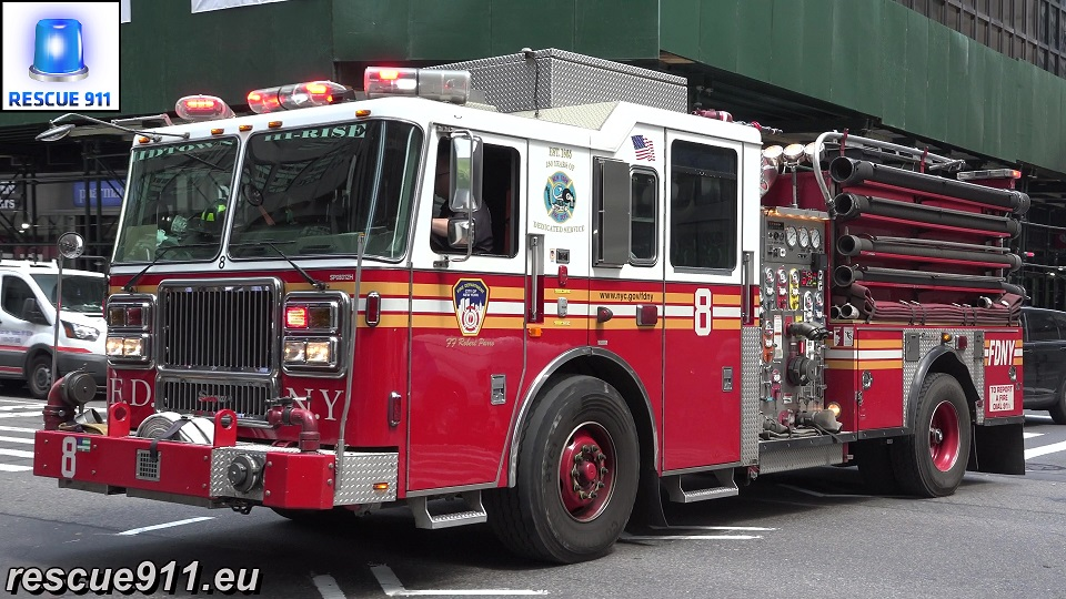Engine 8 FDNY (stream)