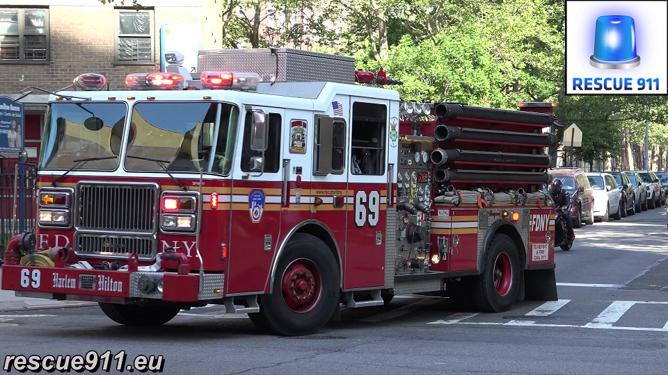 Engine 69 FDNY (stream)