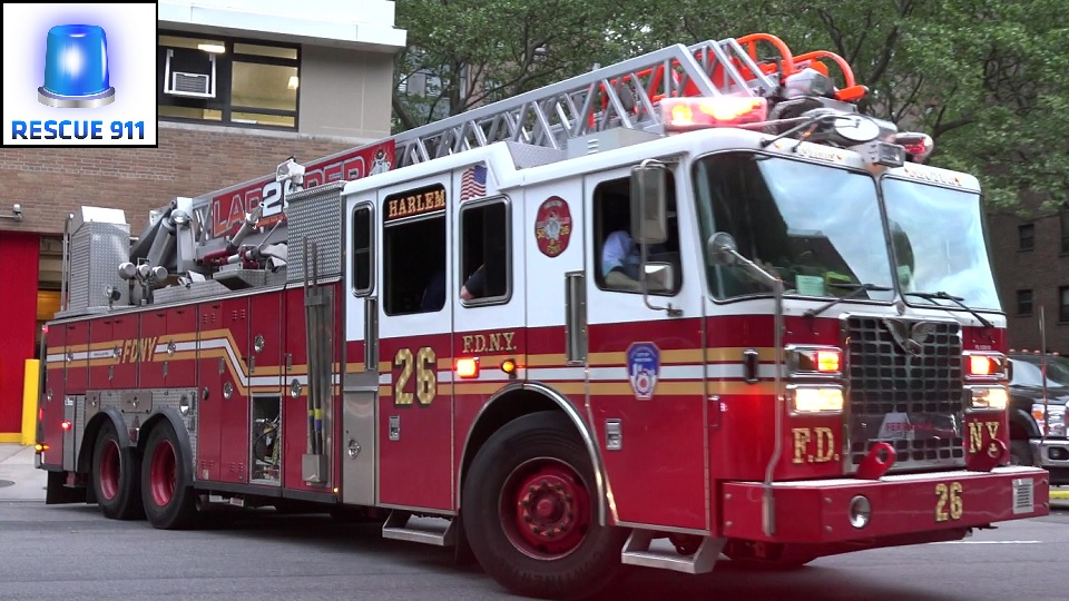 Ladder Truck 26 FDNY (stream)