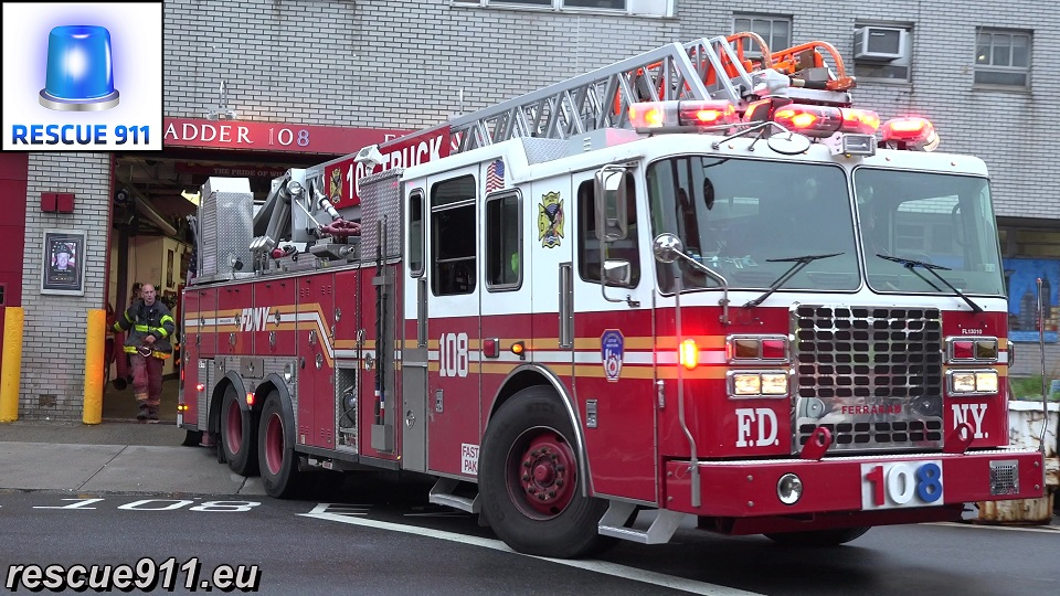 Ladder 108 FDNY (stream)