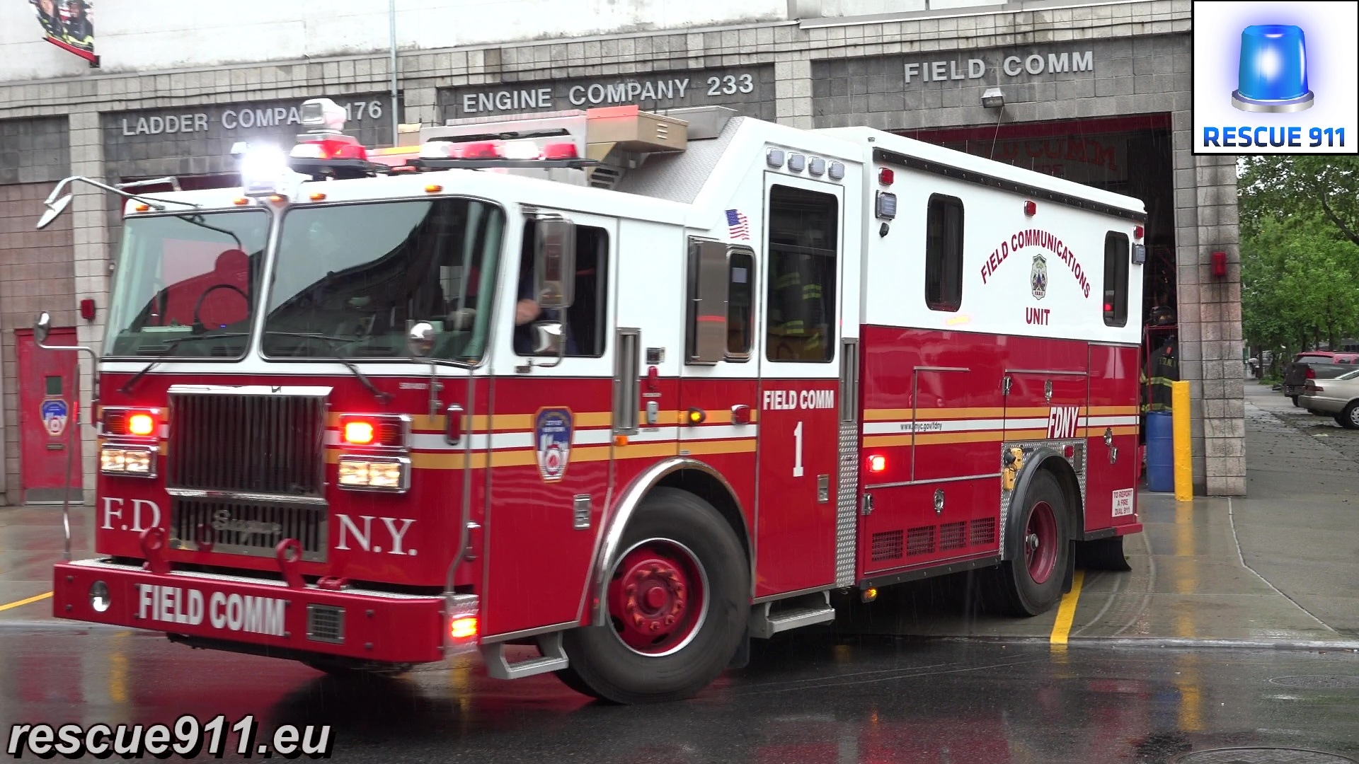 Field Comm 1 + Field Comm Battalion + Ladder 176 FDNY (stream)