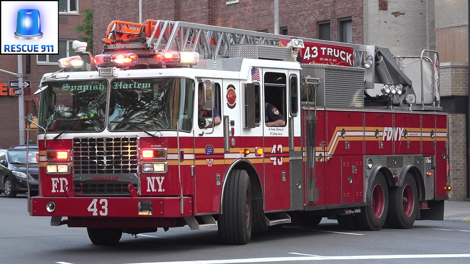 Ladder 43 FDNY (stream)