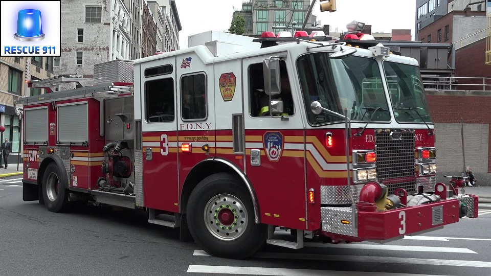 Engine 3 + Battalion 7 FDNY (stream)