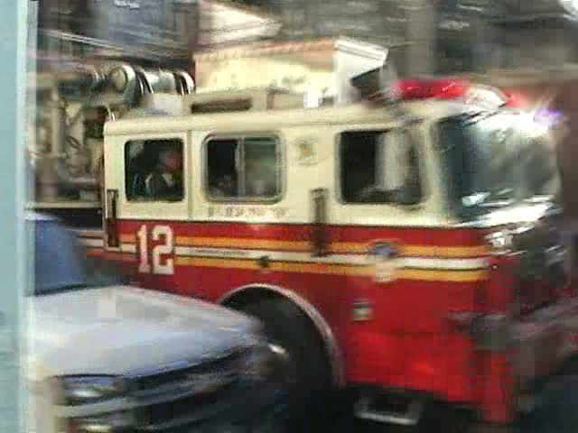 Engine 3 + Tower Ladder 12 FDNY