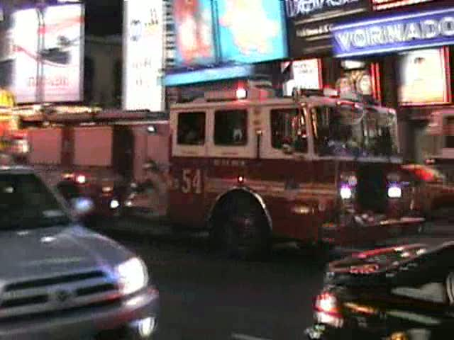Engine 54 + Ambulance FDNY