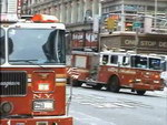 Trucks FDNY + Ambulance Cabrini Medical Center (collection)