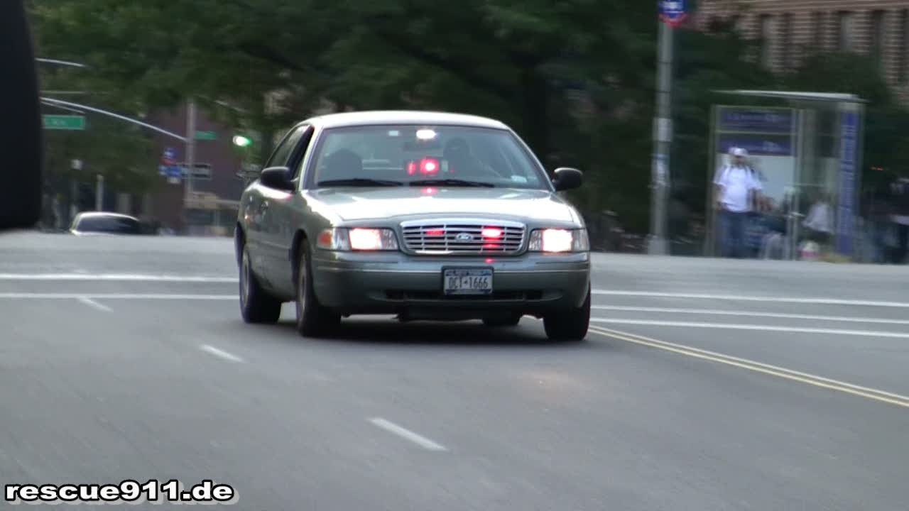 Unmarked Police Car NYPD (stream)