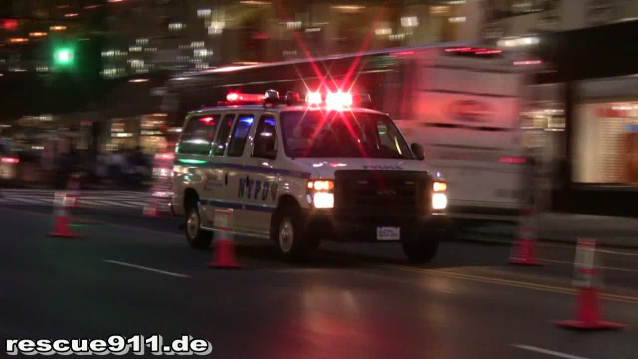 Police Vehicles NYPD (stream)