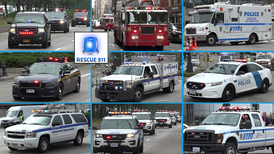 Fire Department + Police Department + Security Agencies New York City (collection) (stream)