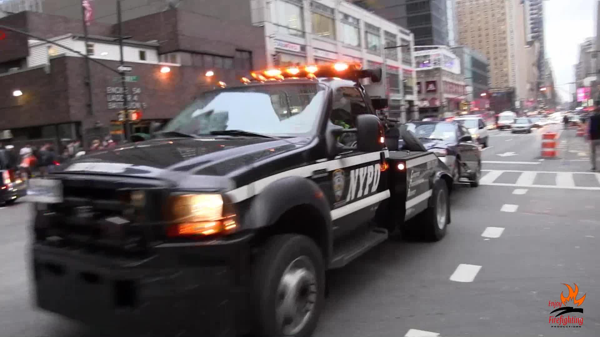 Tow Truck NYPD