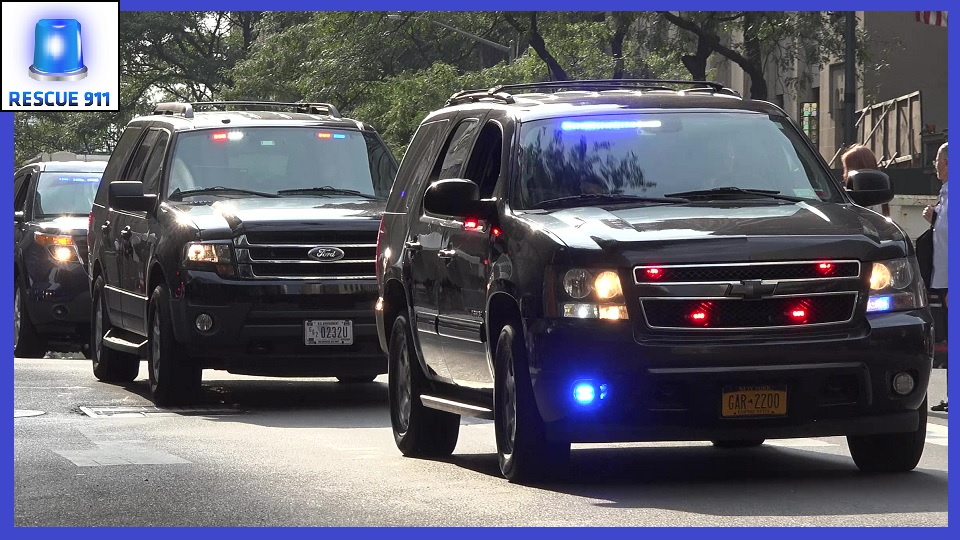 Unmarked Emergency Vehicles + NYPD + EMS + FDNY (collection) (stream)