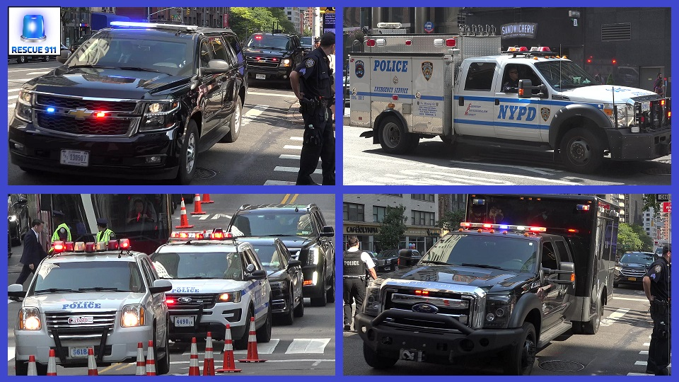 Unmarked Emergency Vehicles + NYPD + FDNY + Ambulance NYU (collection) (stream)