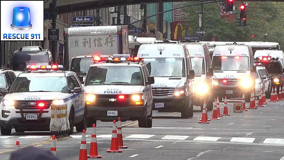 Unmarked Emergency Vehicles + NYPD + FDNY + EMS (collection) (stream)