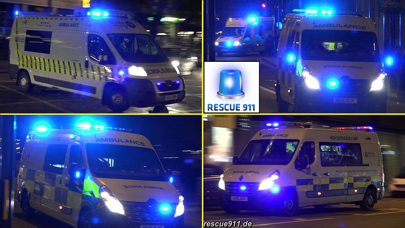 Ambulance Red Cross/LAS/St John/Private London (collection) (stream)