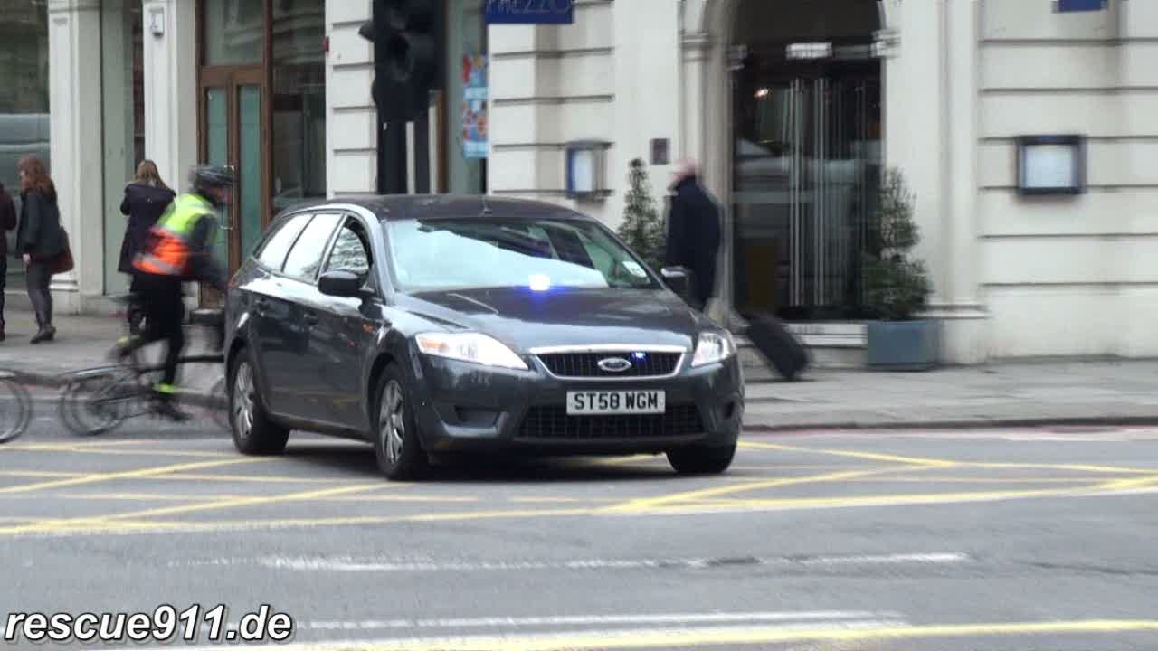 Rapid Response Vehicle LAS + Unmarked Police Car London Police (stream)