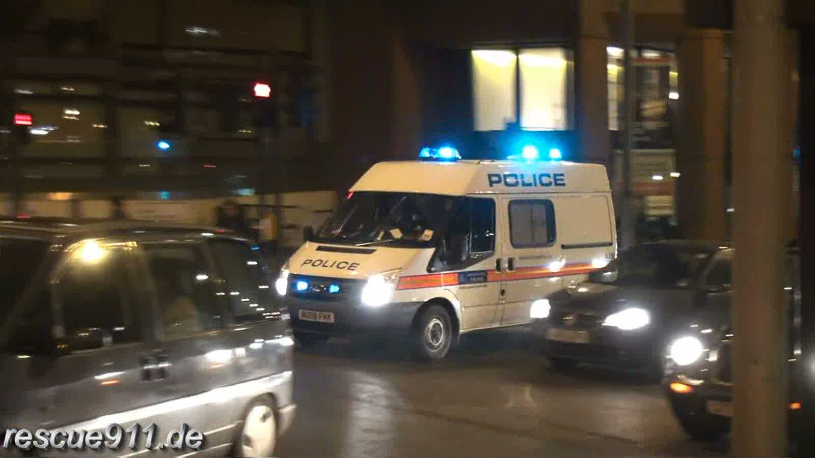 Police Vans Metropolitan Police (collection) (stream)