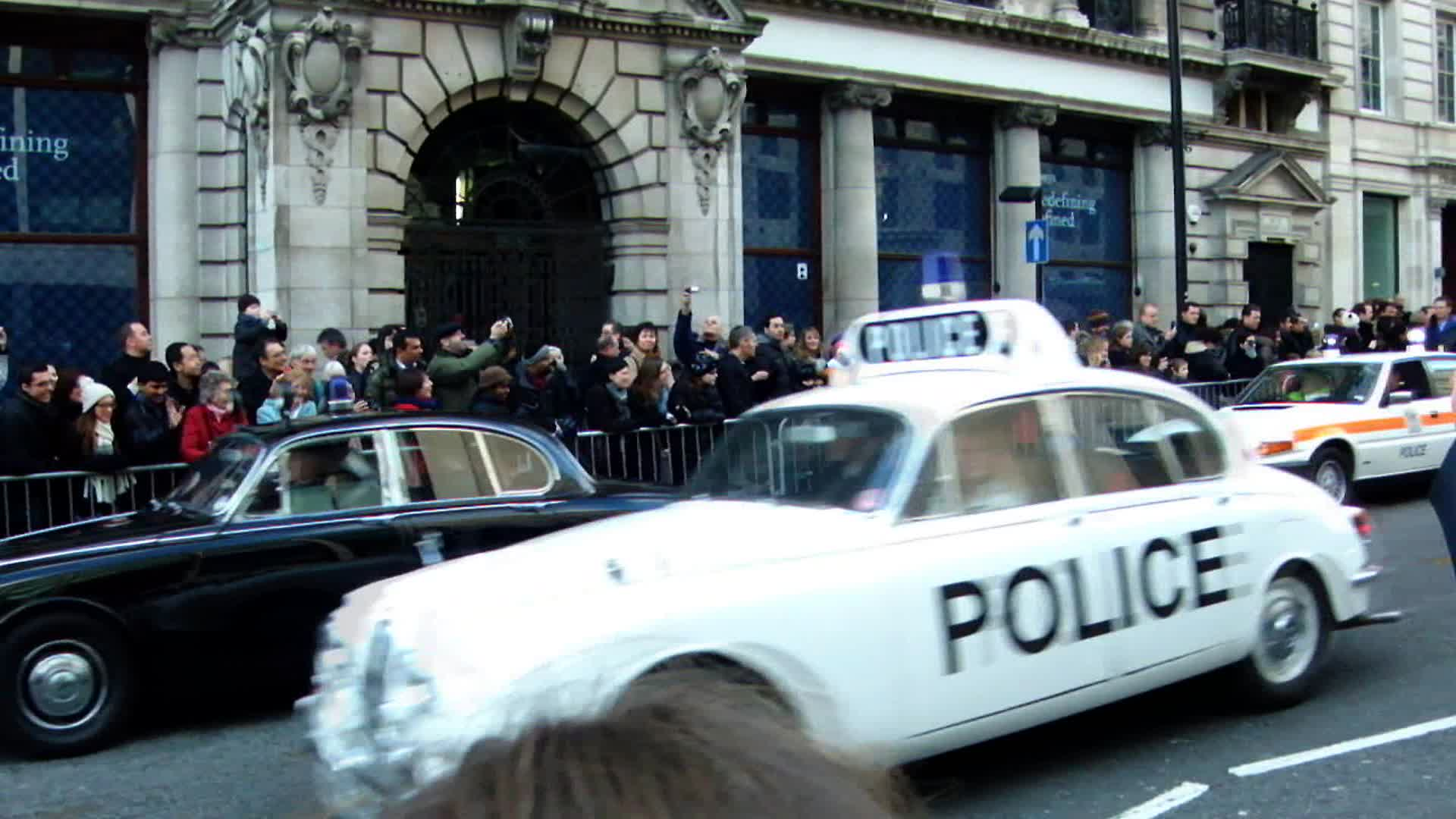 New Year's Police Parade London