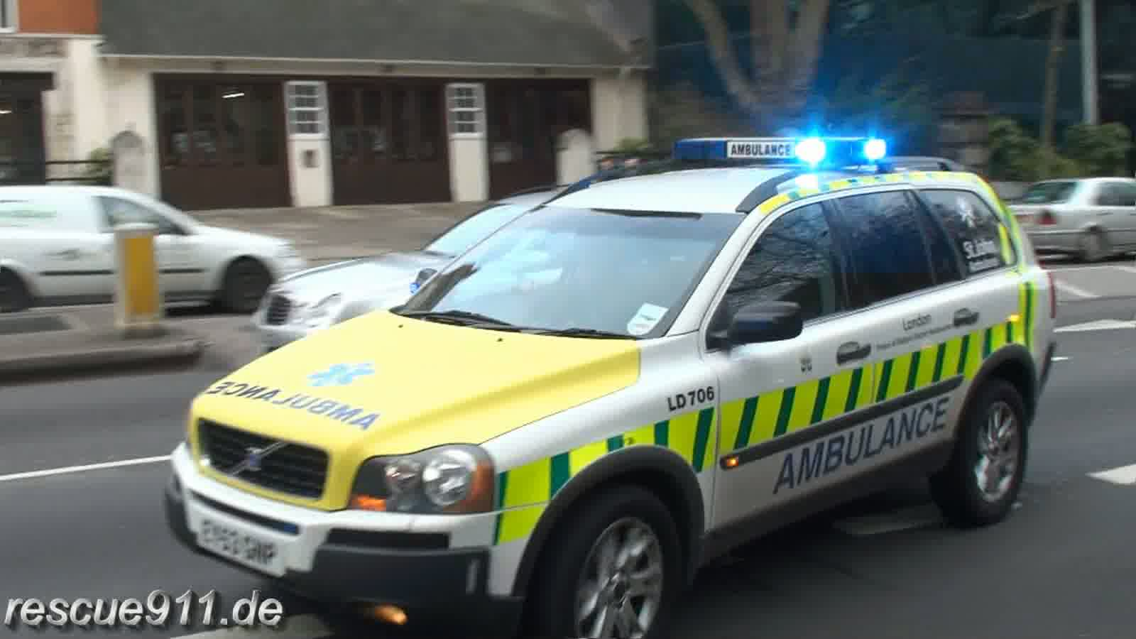 St. John Ambulance SUV (stream)