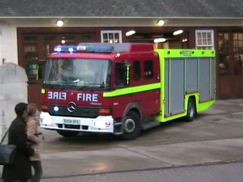 Fire Rescue Unit LFB Euston (stream)