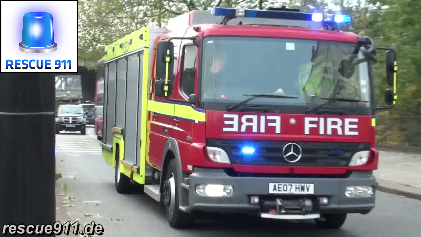 FRU A216 LFB Paddington (stream)
