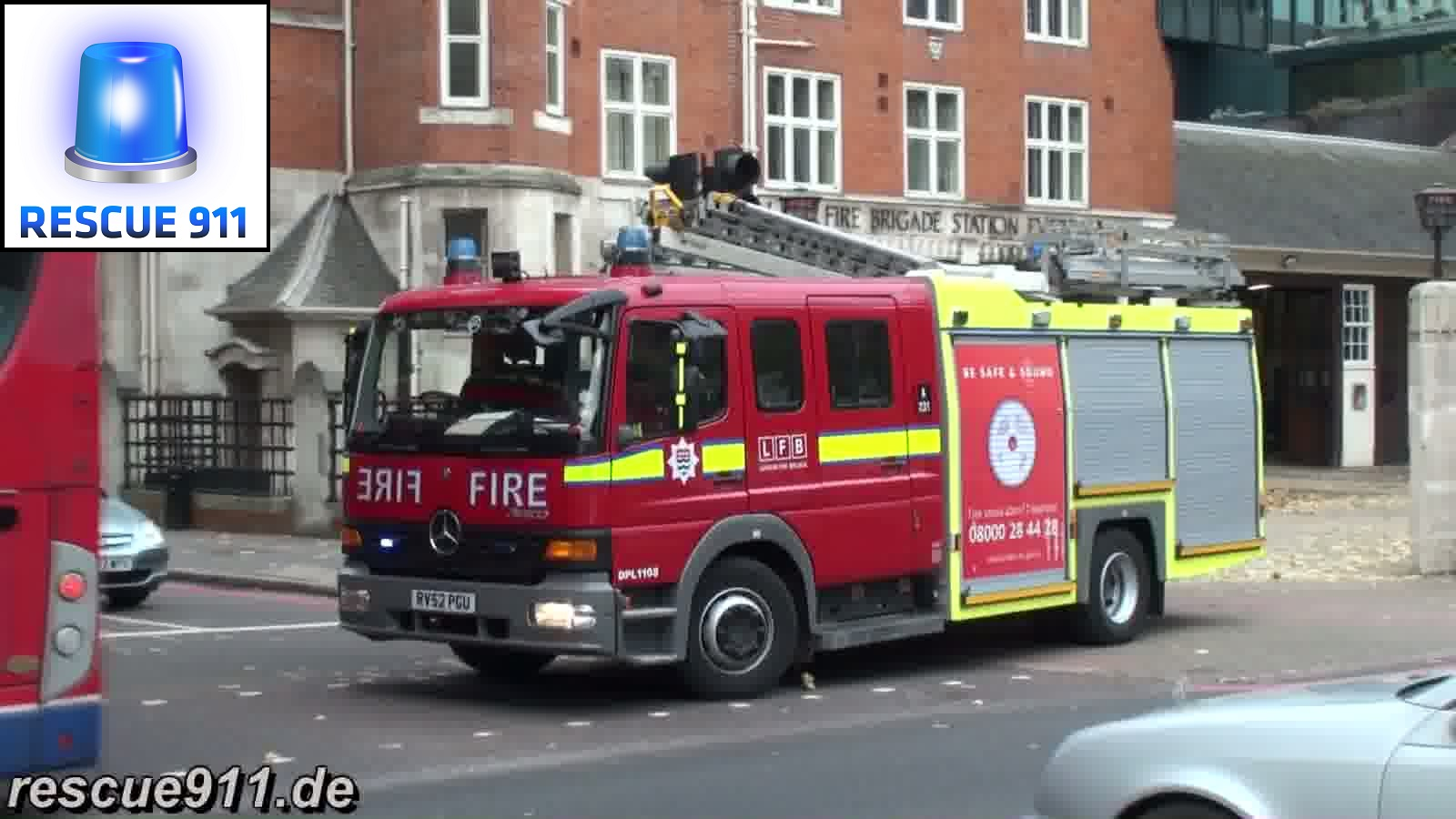 Pump Ladder LFB Euston (stream)