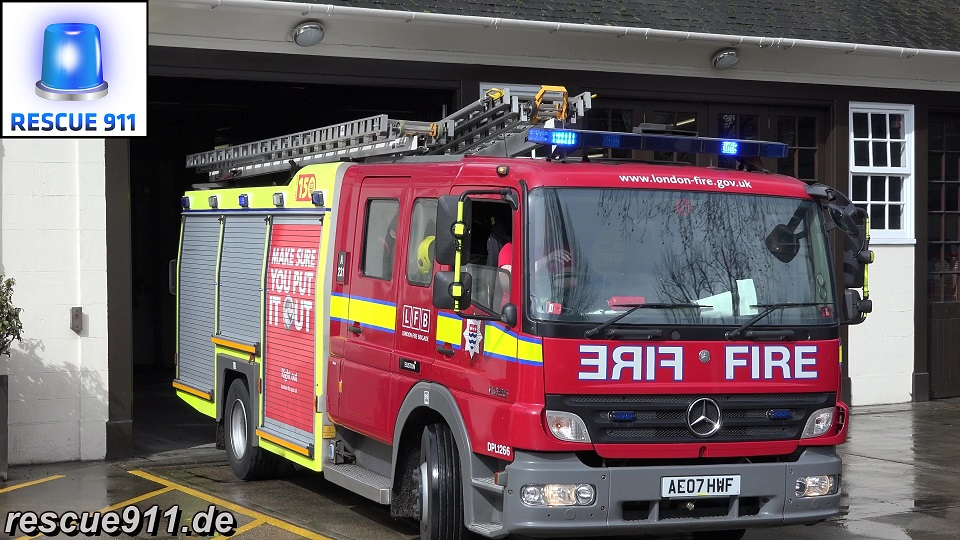Pump Ladder A231 LFB Euston (stream)