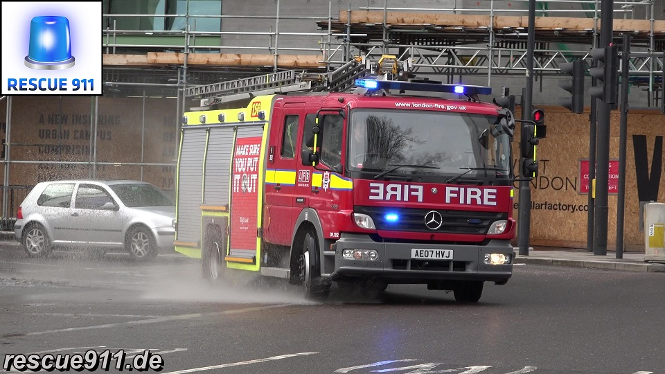 Pump Ladder F331 LFB Whitechapel (stream)