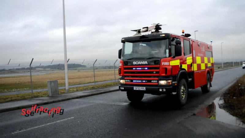 Foam Tender Glasgow Airport Fire and Rescue