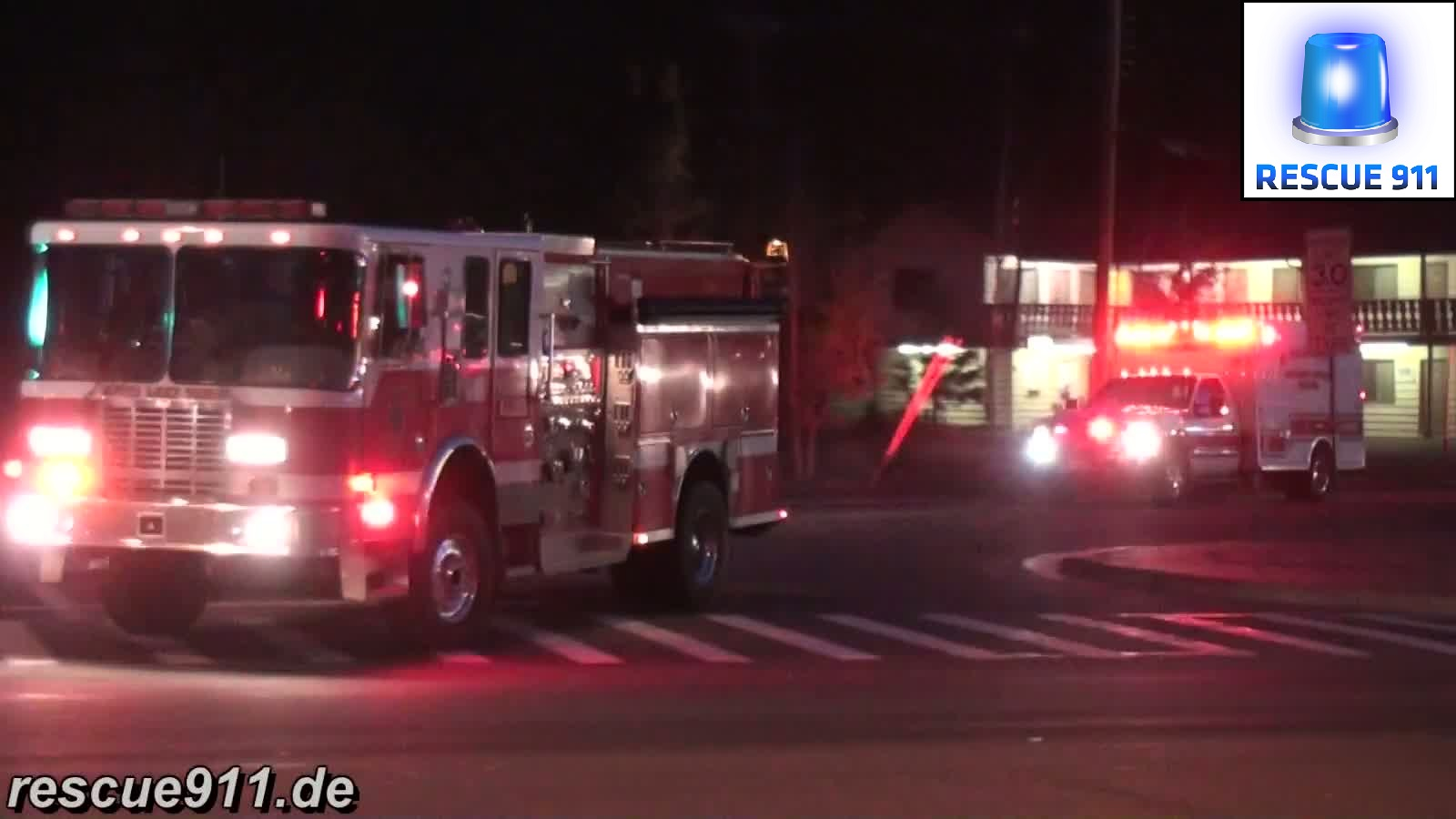 Engine 1 South Lake Tahoe FD + Medic 1 El Dorado County EMS (stream)