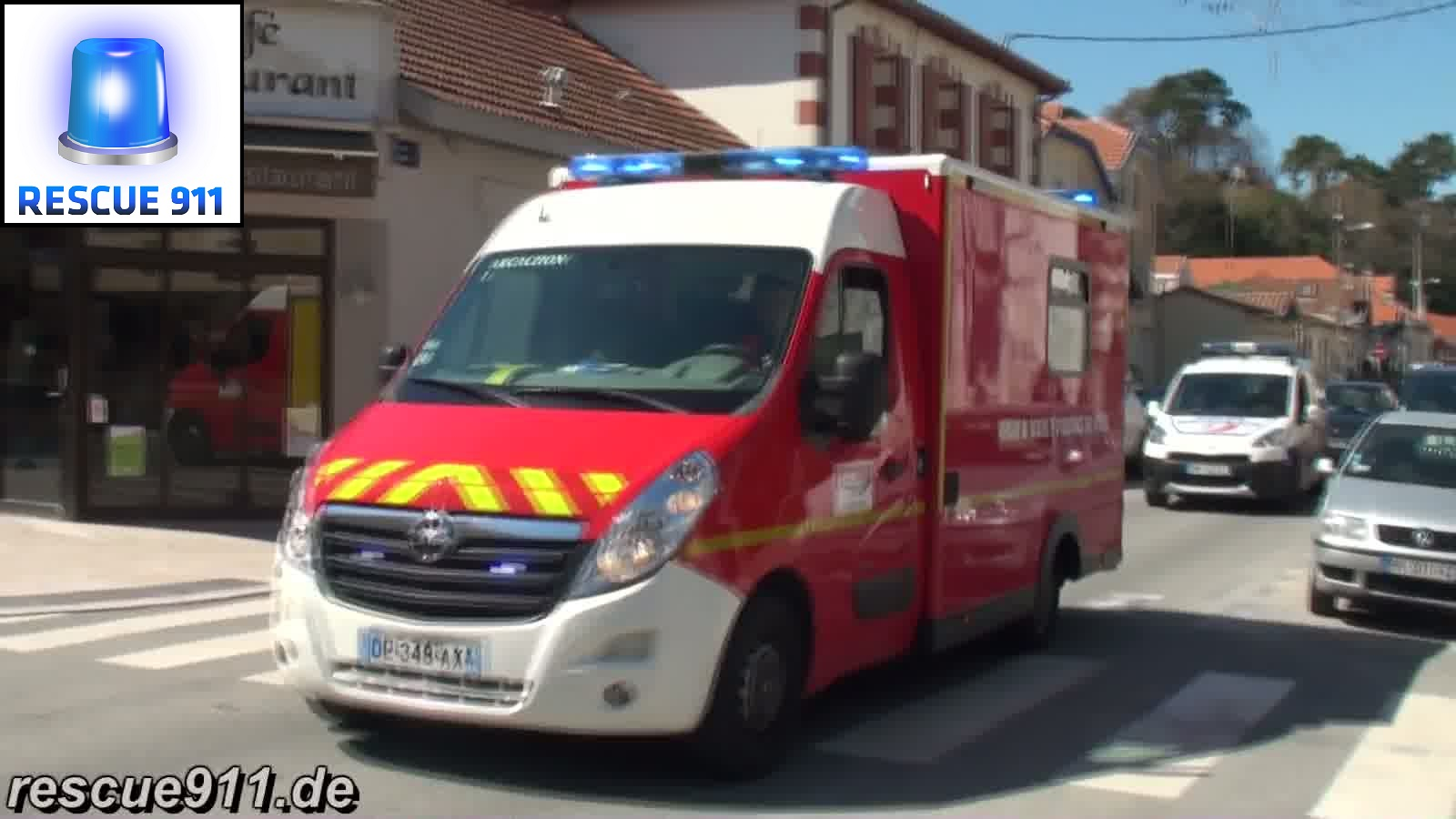 Pompiers + Police Arcachon (collection) (stream)