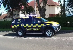 Search and Rescue Vehicle H M Coastguard Leven